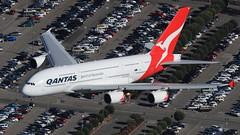 Qantas (VH-OQD) (A Sutanto) Tags: aerial a380 lax qantas spotting qf klax a2a helispotting