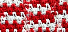 26/365:  Woven Stitch (MountainEagleCrafter) Tags: handmade crochet dishcloth cotton handcrafted etsy handiwork day26 oldfashioned redandwhite smrgsbord artfire stitchdetail 26365 12614 3652014 2014yip 365the2014edition 2014internationalbeauty 26012014 01262014 yesyoucanbuythis