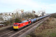 60017 6M00 melton ross 10.02.2014 (Dan-Piercy) Tags: ross 60s kingsbury humber dbs melton supertug 6m00