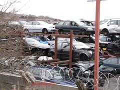 Seat Ibiza, Volvo V40, BMW? (peeler2007) Tags: volvo seat ibiza scrapyard breakers scrap breaker elv v40 seatibiza scrapcar volvov40