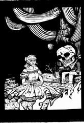 """Bad Decisions... (Danny Martin art) Tags: arizona southwest art cowboy screenprint tucson silkscreen printmaking posada dannymartin"