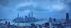 乌云密布/Cloud top pressure (casper shaw) Tags: city building architecture landscape photography nikon shanghai cbd 城市 建筑 lujiazui 摄影 夜晚 公路 蓝色 金融 财富 静安区 发展 概念 商务 视角 长时间曝光 地标建筑 都市风光 1835g