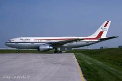C-GIZJ A300B4-203 Wardair (caz.caswell) Tags: 1988 airbus malton airliner yyz a300 airbusa300 a300b4203 torontointernational wardair cgizj