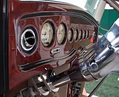 1937 Chevrolet Half-Ton Pickup Street Rod (4 of 5) (myoldpostcards) Tags: auto show chevrolet tangerine truck illinois gm paint panel interior pickup indoor holly il chevy dash nostalgic rod urbano trucks annual dashboard custom oldtruck invitational streetrod owner 29th classictruck 1937 instrumentpanel generalmotors pekin vintagetruck vanillashake custominterior motorvehicle commercialvehicle antiquetruck utilityvehicle halfton 12ton 33013 myoldpostcards vonliski earlyfordv8clubofamerica collectibletruck avantisdome march302013 regionalgroup51 rudyurbano arleneurbano