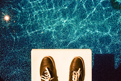 (Intelligentsia Slang) Tags: summer pool swimmingpool zeissikon keds