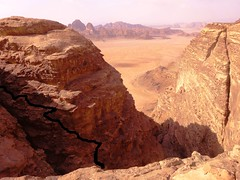 The Improbable Descent, Mohammed Musa's Route, Jebel Hajaj (andywalker1) Tags: wadirum jordan rum andrewwalker andywalker bedoiunroute mohammedmusa jebelhaja