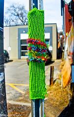Knit Art - Ottawa 04 14 (Mikey G Ottawa) Tags: street city streetart ontario canada wool grafitti ottawa knit yarn mikeygottawa