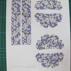 วิธีทำโมเดลกระดาษสำหรับตกแต่งทรงเรขาคณิต (Decor Geometry Papercraft Model) 001