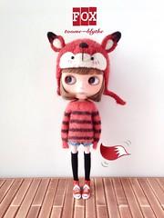 【toome_blythe】BlytheHat/helmet—Fox