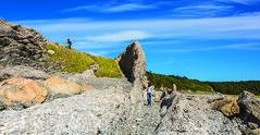 Exploring the Coastline in Broom Point (Newfoundland and Labrador Tourism) Tags: western geography grosmornenationalpark newfoundlandandlabrador peopleculture