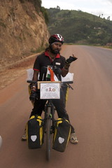 SOMEN DEBNATH - Around the World on Bicycle Tour for HIV/AIDS