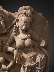 The River Goddess Ganga (Ganges) and Attendants LACMA M.79.9.10.1 (7 of 9) (Fæ) Tags: wikimediacommons imagesfromlacmauploadedbyfæ sculpturesfromindiainthelosangelescountymuseumofart