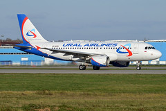 Ural Airlines, VP-BTE, Airbus A319-112 (Anna Zvereva) Tags: plane airport aviation airbus boeing spotting dme domodedovo  uudd