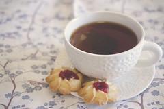 Sunday Morning (flashfix) Tags: white ontario canada cookies dessert nikon tea drink ottawa beverage sweets treat 40mm teacup jam textured sugarcookies cupandsaucer foodphotography 2015 sweetsunday d7000 nikond7000 2015inphotos february012015
