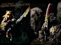 MonsterHunter Hunting Arms Collection (Figraphix (Gunshrimp)) Tags: sabertooth monsterhunter revoltech   queensblade   huntingarmscollection