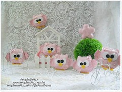 Corujinhas... (angela_artes) Tags: feltro decoração festainfantil centrodemesa corujinhas artesanatoemfeltro festajardim corujaemfeltro angelaartes