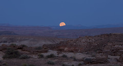 Lunar landscape (Jeff Mitton) Tags: moon landscape utah desert scenic wilderness sanrafaelswell moonset coloradoplateau redrockcountry wondersofnature earthnaturelife