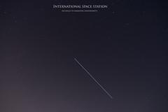 International Space Station (19Cefa94) Tags: sky station night stars photography nikon space trails international samantha iss d5300 cristoforetti