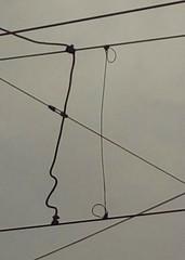 Und so schicken wir Telegramme an den Himmel (raumoberbayern) Tags: munich mnchen tram cable kabel robbbilder urbanfragments strasenbahn