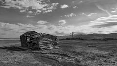 Freds Well B&W (joeqc) Tags: county blackandwhite bw white lake black abandoned blancoynegro canon nevada nye dry nv forgotten 6d ef1740f4l greytones oncewashome