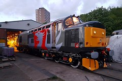 37800 Leicester 15.05.16 (jonf45 - 5 million views -Thank you) Tags: br leicester rail trains class depot british 37 railways 37800 europheonix
