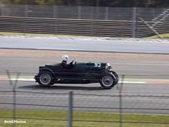 Bentley 3/4.5 Litre (BenGPhotos) Tags: 3 green classic sports car club race speed start vintage james spring 4 fast racing 45 silverstone british motor 12 panning circuit bentley motorsport vscc litre morley autosport prewar 2016