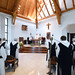 A kismarosi ciszterci orvosi rendelő megnyitásának 25. éves évfordulója alkalmából tartott hálaadó szentmise a Ciszterci Monostorban.