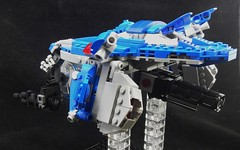 Bluetail side (donuts_ftw) Tags: lego space scifi spaceship moc classicspace