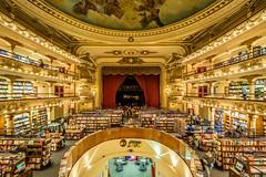 El Ateneo Grand Splendid #1 (USpecks_Photography) Tags: argentina buenosaires theater symmetry bookstore galleria elateneograndsplendid