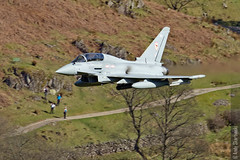 RAF Typhoon, Patterdale, 20/4/2016 (TheSpur8) Tags: uk aircraft military transport jet lakedistrict places t3 date typhoon lowlevel 2016 landlocked oxfordcrag skarbinski anationality