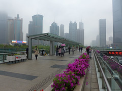 Overhead Walkway, Lujiazui, Pudong (Daniel Brennwald) Tags: china shanghai pudong lujiazui