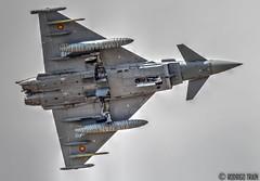 SPAIN AIR FORCE. Ala 14.  Eurofighter 2000 (Rodrigo Tran Corts) Tags: airport spain zaragoza eurofighter airforce aeropuerto base caza tigermeet garrapinillos ala14 ntm2016 tigermeet2016 autoremovedfrom10to25faves