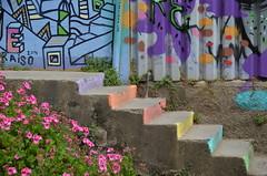 colourful (Hayashina) Tags: chile southamerica valparaiso colours staircase colourful