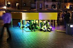 2016 Vivid Sydney: Osmose #1 (dominotic) Tags: lighting light blur color colour art festival night dark movement sydney australia circularquay festivaloflight installation nsw nightsky sydneyharbour afterdark 2016 lightsculpture osmose nightlighting winterfestival ledlight vividlight lightinstallations opticalart architecturalart vividsydney vividsydney2016 hamishsteptoe