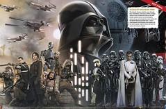 Star Wars: Rogue One Illustration (StarSaberSlash) Tags: starwars empire darthvader rebels rogueone
