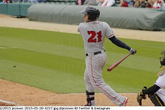2015-05-20 4227 Minor League Baseball - Pawtucket Red Sox @ Indianapolis Indians (Badger 23 / jezevec) Tags: pictures sports field photography photo team baseball action farm indianapolis redsox indiana images player indians tribe athlete minor pawsox ballpark aaa minorleague basebal honkbal pittsburghpirates 4200 bisbol  minors indianapolisindians 2015 aaabaseball  farmteam pawtucketredsox victoryfield  besbol  internationalleague   bejsbol farmclub beisbols bejzbol  ilbaseball pesapall beisbuols hornabltur bejzbal beisbolas beysbol  bezbl     redsoxfarm 20150520