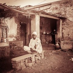 Strength (vishalmaru) Tags: gujrat gujarat india jamnagar sika sikka gujrati village life rural ruralindia temple