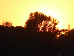 Fogo longnquo (Jnio Klo #9) Tags: sol cu amarelo poente