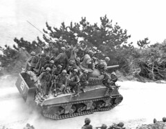 Tank-borne infantry of Colonel Victor Bleasdales 29th Marines moving up to take the town of Ghuta before the Japanese can occupy it. April, 1945. [2784 x 2170] #HistoryPorn #history #retro http://ift.tt/1OWX6IO (Histolines) Tags: history up infantry japanese town moving before can it x retro victor take april timeline marines colonel 1945 29th 2784 vinatage 2170 occupy historyporn ghuta histolines tankborne bleasdales httpifttt1owx6io