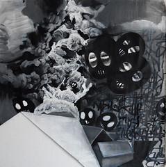 Fabian Zolar - War Painting (Fabian Zolar) Tags: streetart art painting war arte contemporaryart kunst fineart terrorism modernekunst pintura oiloncanvas malerei zolar oelaufleinwand fabianzolar wwwzolartde