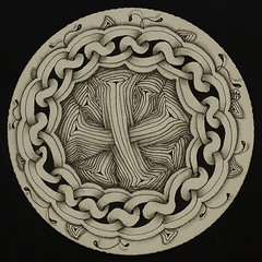 Zendala 9 (aaspforswestin) Tags: art design pattern freehand zentangle zendala tanglepattern