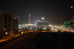 ffm by night (dadiolli) Tags: frankfurt messe frankfurtammain ffm lightbuilding