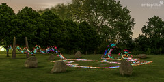 Stars and Stones (entoptika) Tags: lightpainting stars stones stonecircle brockley hillyfields pixelstick