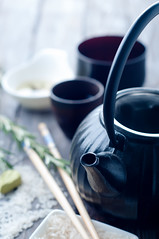 Chinese black teapot (lyule4ik) Tags: china brown white black hot green cup japan closeup set ceramic asian japanese wooden healthy asia warm tea drink antique background traditional beverage chinese decoration ceremony culture lifestyle nobody housewares bowl steam east pot kettle mat health cap pottery teapot service tradition oriental teacup relaxation liquid herb herbal steamy refreshment