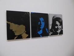 Andy Warhol - Jackie Triptych (c_nilsen) Tags: sanfrancisco california portrait art museum digital sfmoma silkscreen andywarhol digitalphoto jackiekennedy sanfranciscomuseumofmodernart