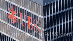 UBS Three Keys Logo, UBS (Paine Webber) Office Tower at 1285 Avenue of the Americas, New York City (jag9889) Tags: nyc newyorkcity red usa house ny newyork building tower architecture skyscraper logo observation unitedstates outdoor manhattan unitedstatesofamerica rockefellercenter aerialview bank midtown deck 101 observatory pops topoftherock ubs rockefellerplaza 2016 popos privatelyownedpublicspace painewebber jag9889 1285sixthavenue 20160614