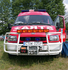 Straz (roomman) Tags: light lake ford nature water car truck landscape fire lights countryside country volunteers engine poland polska company vehicle fireengine volunteer heavy department firedepartment additional brigade firebrigade osp osie voluntary 2016 jezioro straz gmina tlen tle ksrg jezioromukrza mukrza storlarczyk gminaosie