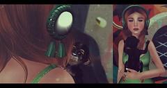 Let the monkey play ! (IGOTIT [blog]) Tags: life pink black blog acid sl secondlife second shi bantam tfc arise igotit n21 littlebones flowey pinkacid thefantasycollective storiesco ntwenty1 igotitblog