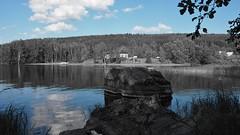Julkula (mimukka89) Tags: summer lake nature june finland olympus kuopio 2016 kallavesi julkula em10markii