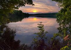 Sunset - Crescent Lake (crmanski) Tags: sunset landscape crescentlake southingtonct